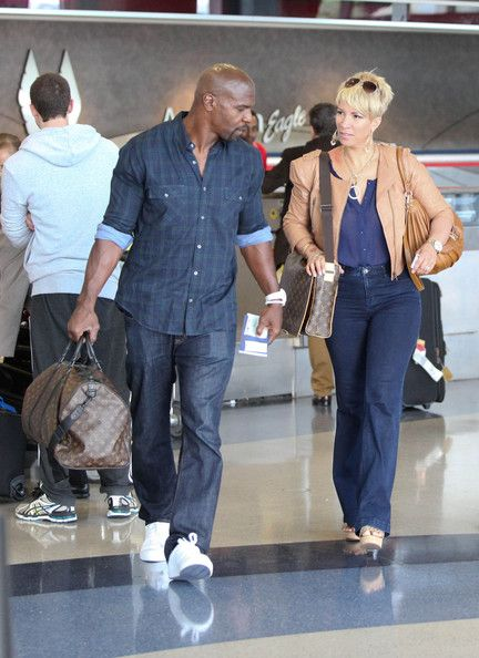 Rebecca Crews Photos Photos Terry Crews Heads Out Of Town With His Wife Black Love Couples Terry Crews Black And White Love