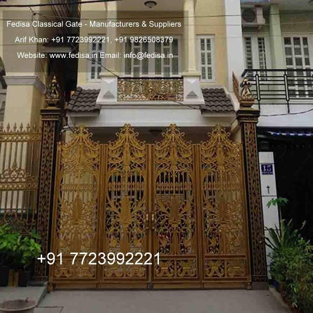 Simple iron gate designs new design front for homes main house also rh pinterest