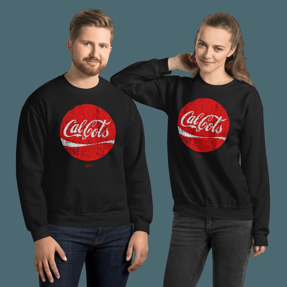 Calçots | Unisex Sweatshirt - Black / 3XL