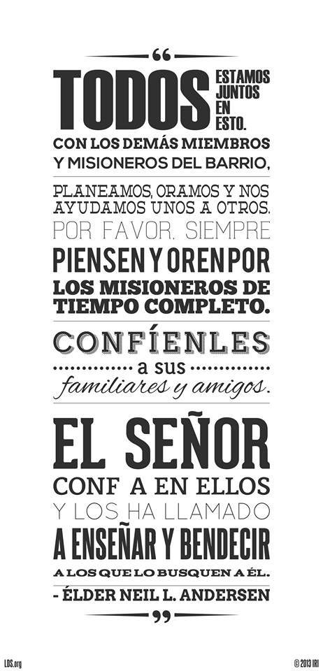 FRASES Y ESCRITURAS, DE LA IGLESIA DE JESUCRISTO DE LOS SANTOS DE ...
