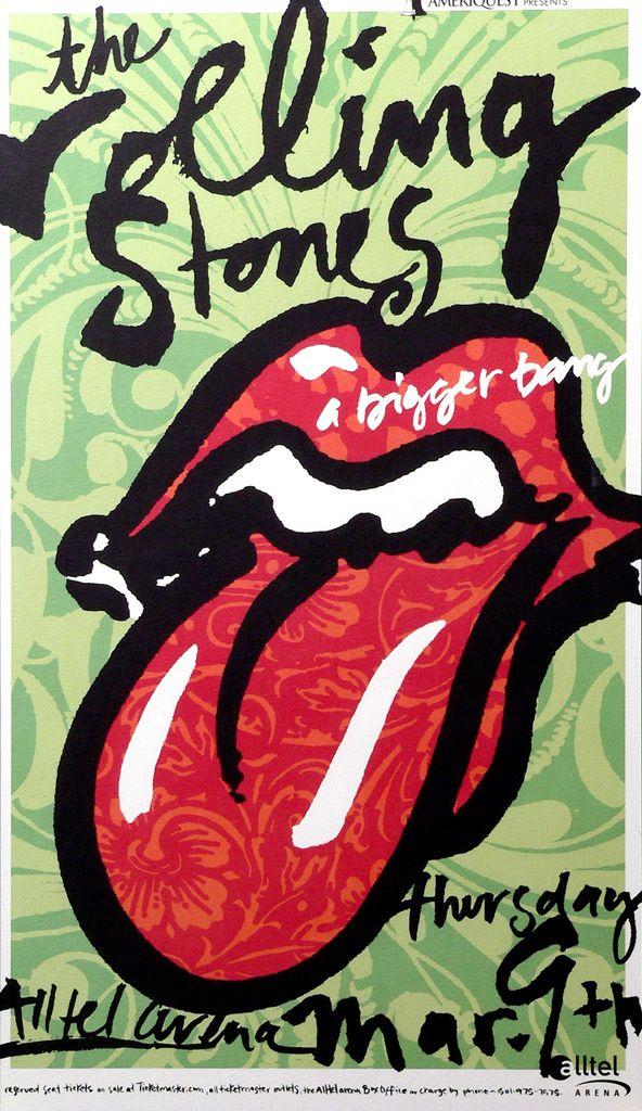 postercontest Rolling stones concert, Rolling stones