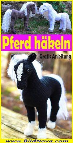 Photo of In dieser Anleitung zeige ich euch, wie ihr ein schönes Amigurumi Pferd selbst …