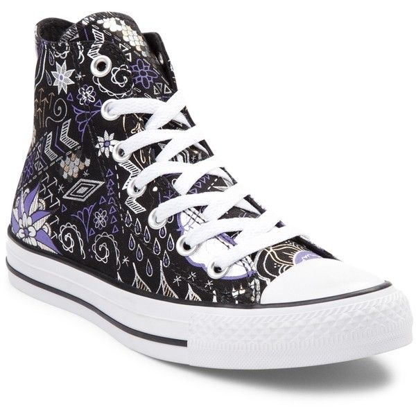 3a9b36ac8903 Converse Chuck Taylor All Star Hi Tattoo Sneaker ( 99) ❤ liked on Polyvore  featuring shoes