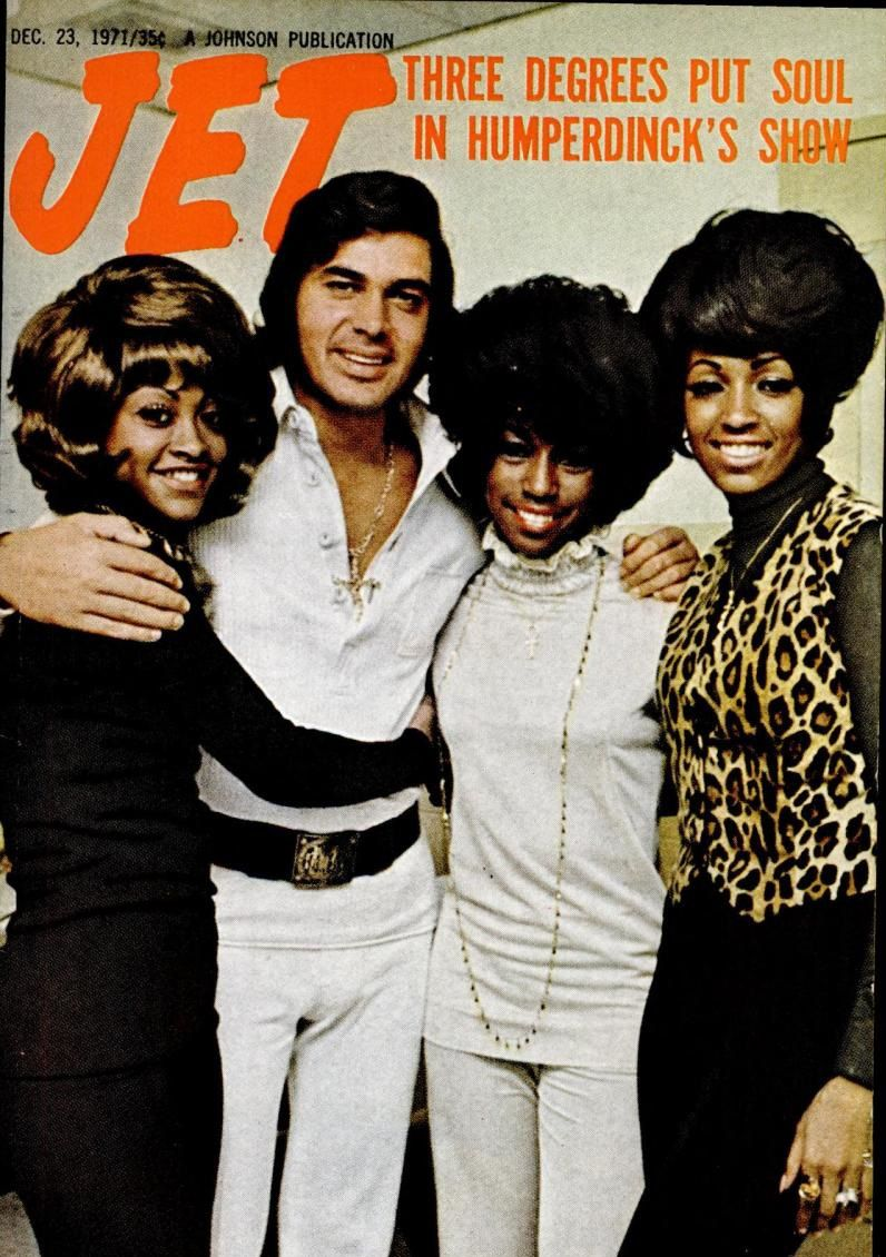 Jet magazine (December 23, 1971) — The Three Degrees with ...