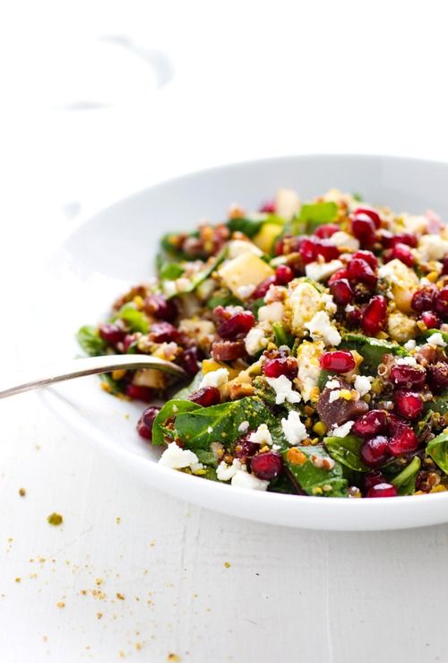 Rainbow Quinoa Salad | Recettes de cuisine, Recette ...
