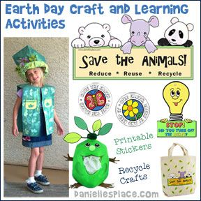 Earth Day Crafts And Projects For Kids From Www