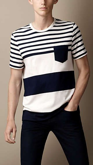 73ac6d3f9 Polo Shirts & T-Shirts for Men | My STYLE | T shirt, Burberry t ...