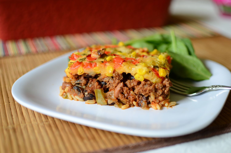 Mexican Beef Casserole Mexican beef casserole, Food