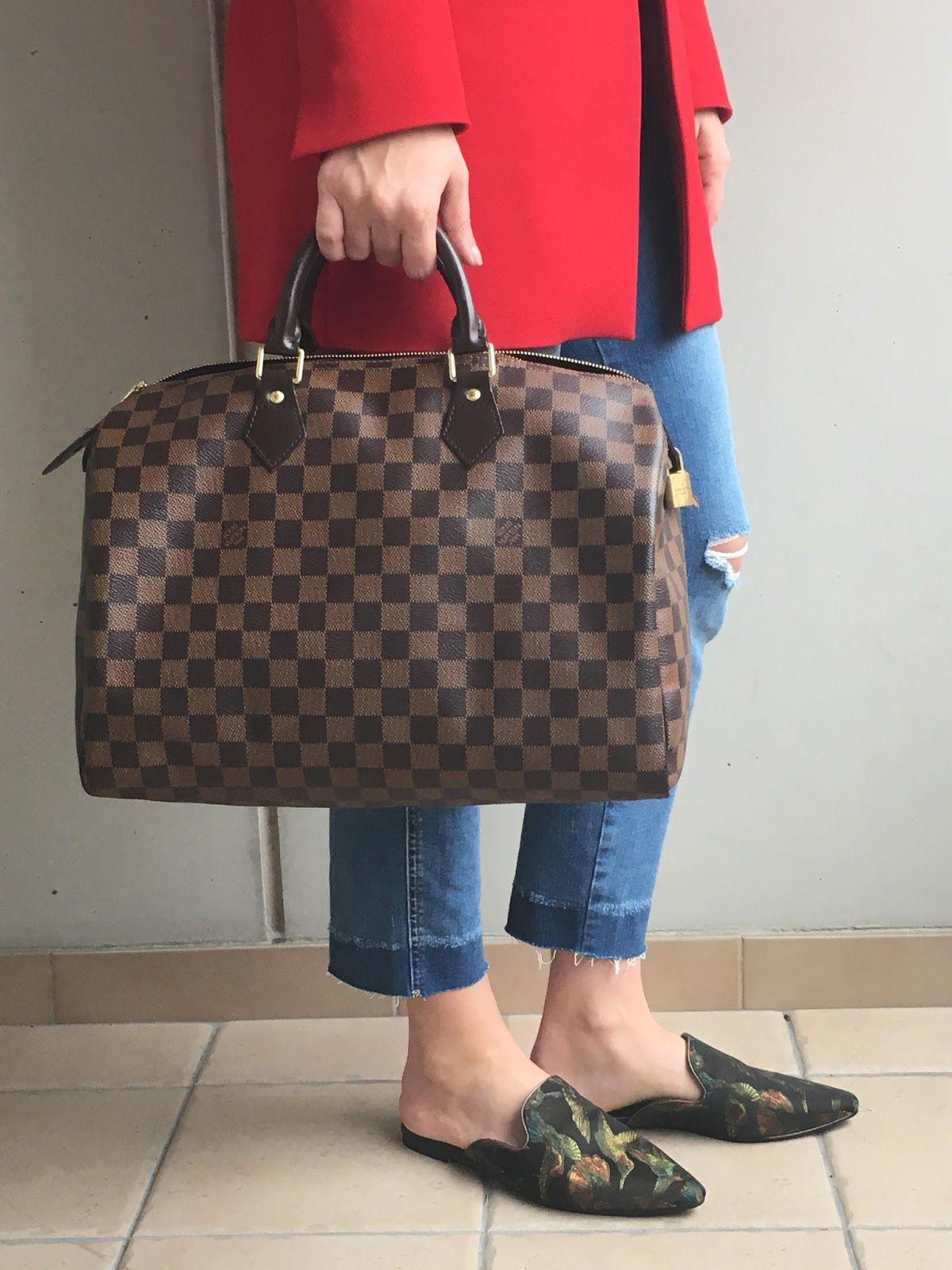 961209bda2 Louis Vuitton Speedy 35 Review