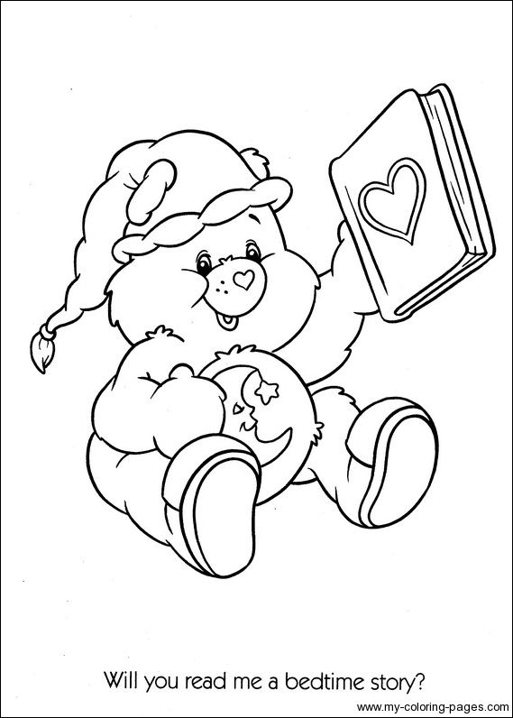 Care Bears Coloring106 Crafty