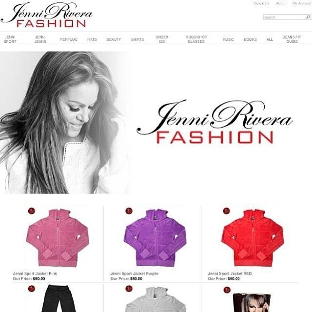af314afe47a Jenni Rivera Fashion NOW ONLINE!