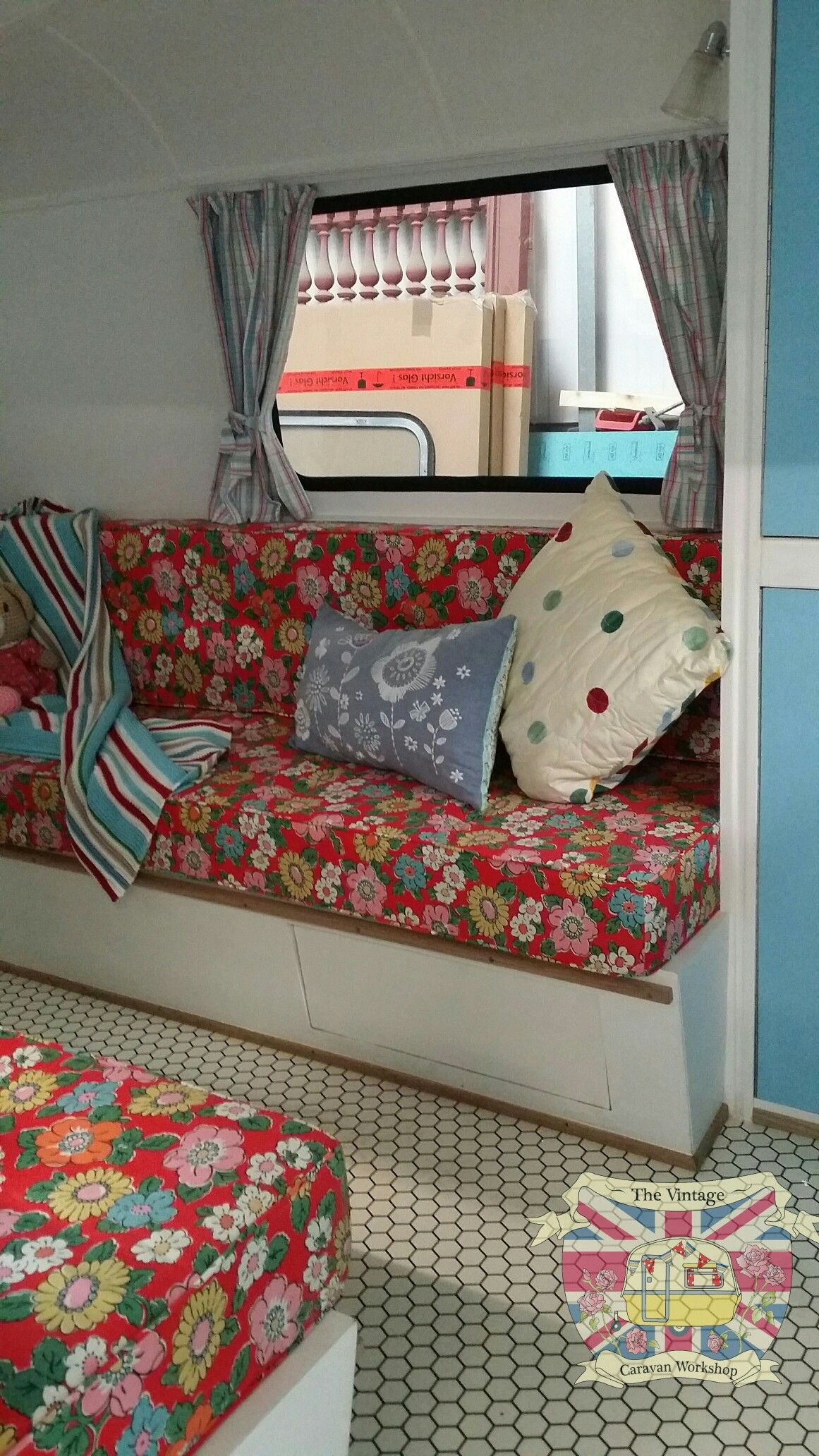 Vintage Caravan Interior Design
