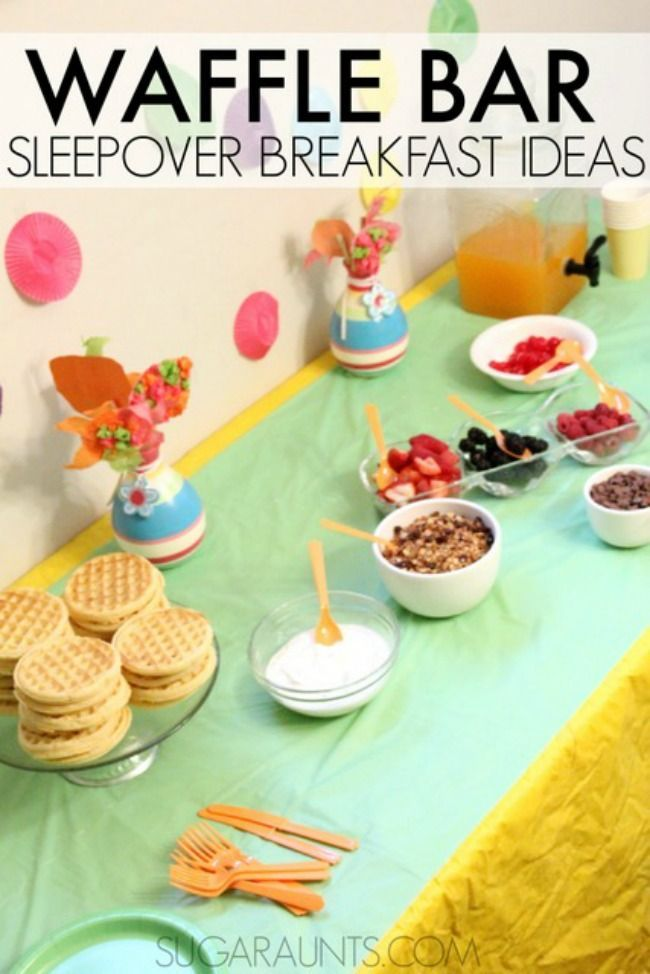 The 11 Best Sleepover Party Ideas | The Eleven Best
