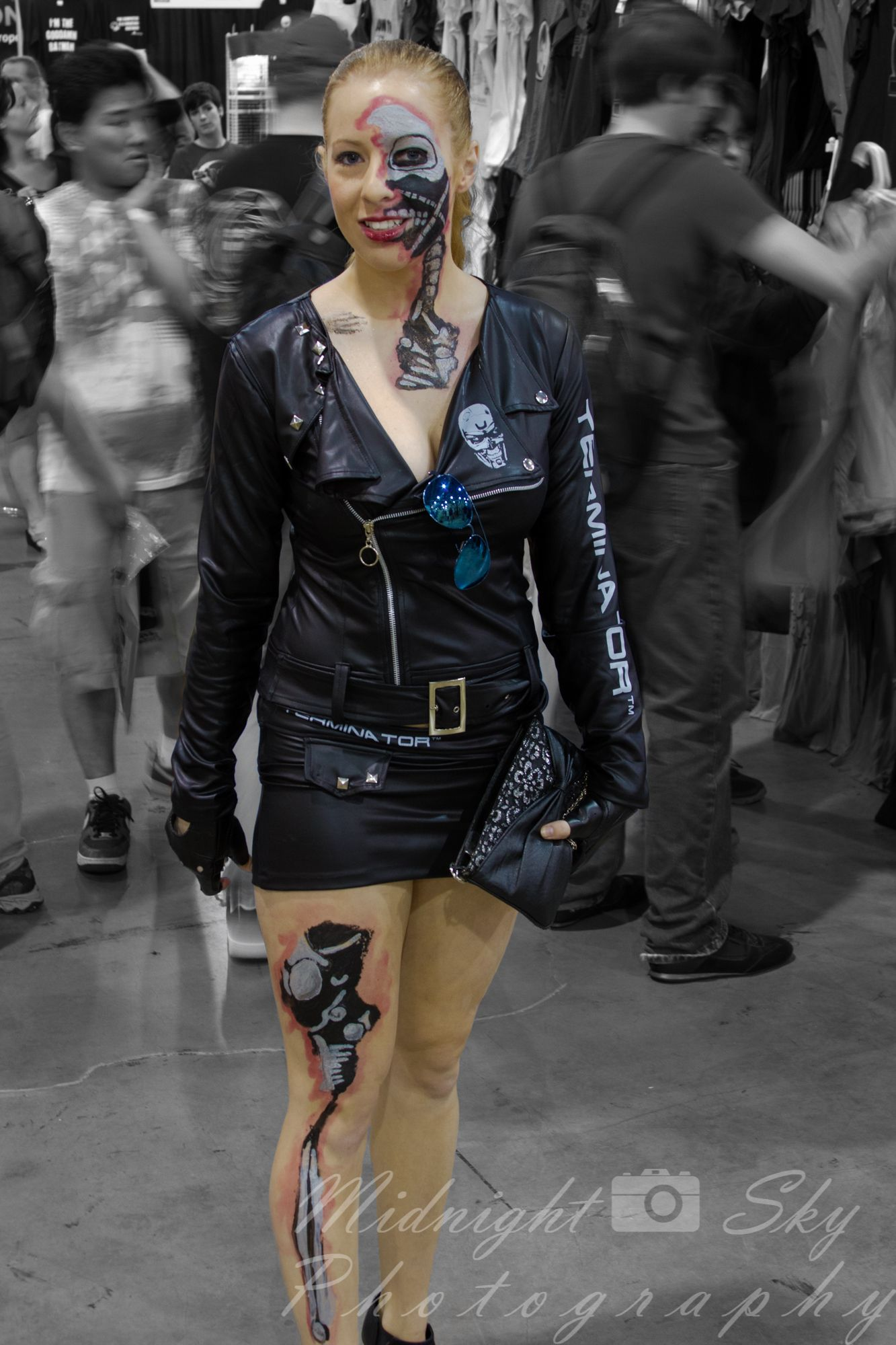 Terminator (T800 Model 102, maybe) #cosplay -- Philly Wizard World ...
