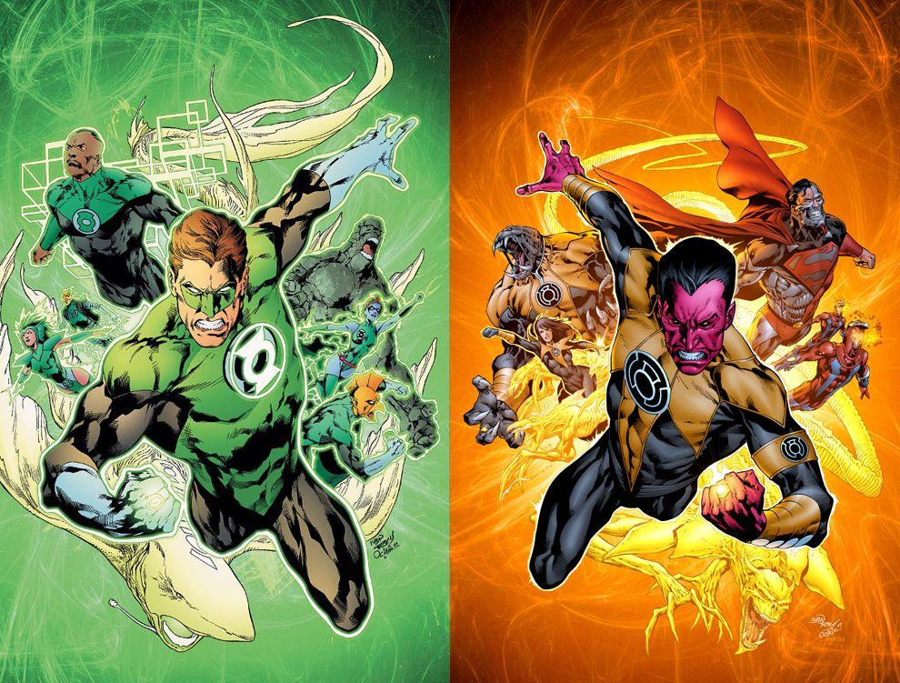o rozsądnej cenie stabilna jakość ładne buty Green Lantern Corps vs. Sinestro Corps | Green lantern corps ...
