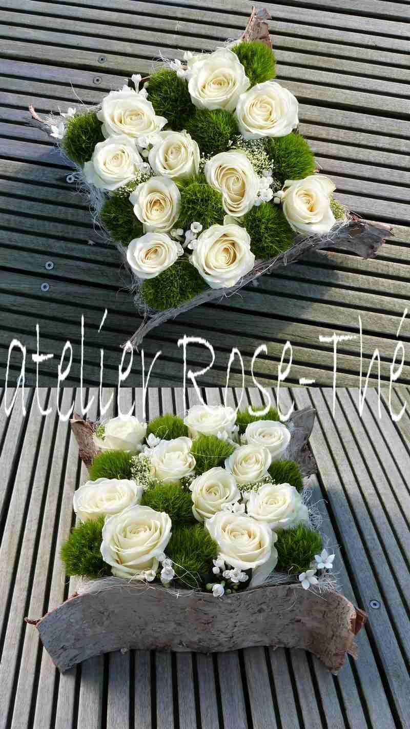 atelier rose th art floral mousse fleurs piqu es corce de bouleau f g blumen. Black Bedroom Furniture Sets. Home Design Ideas