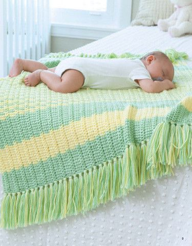 Picture Of Tunisian Crochet Baby Blankets I Love Finding Pretty