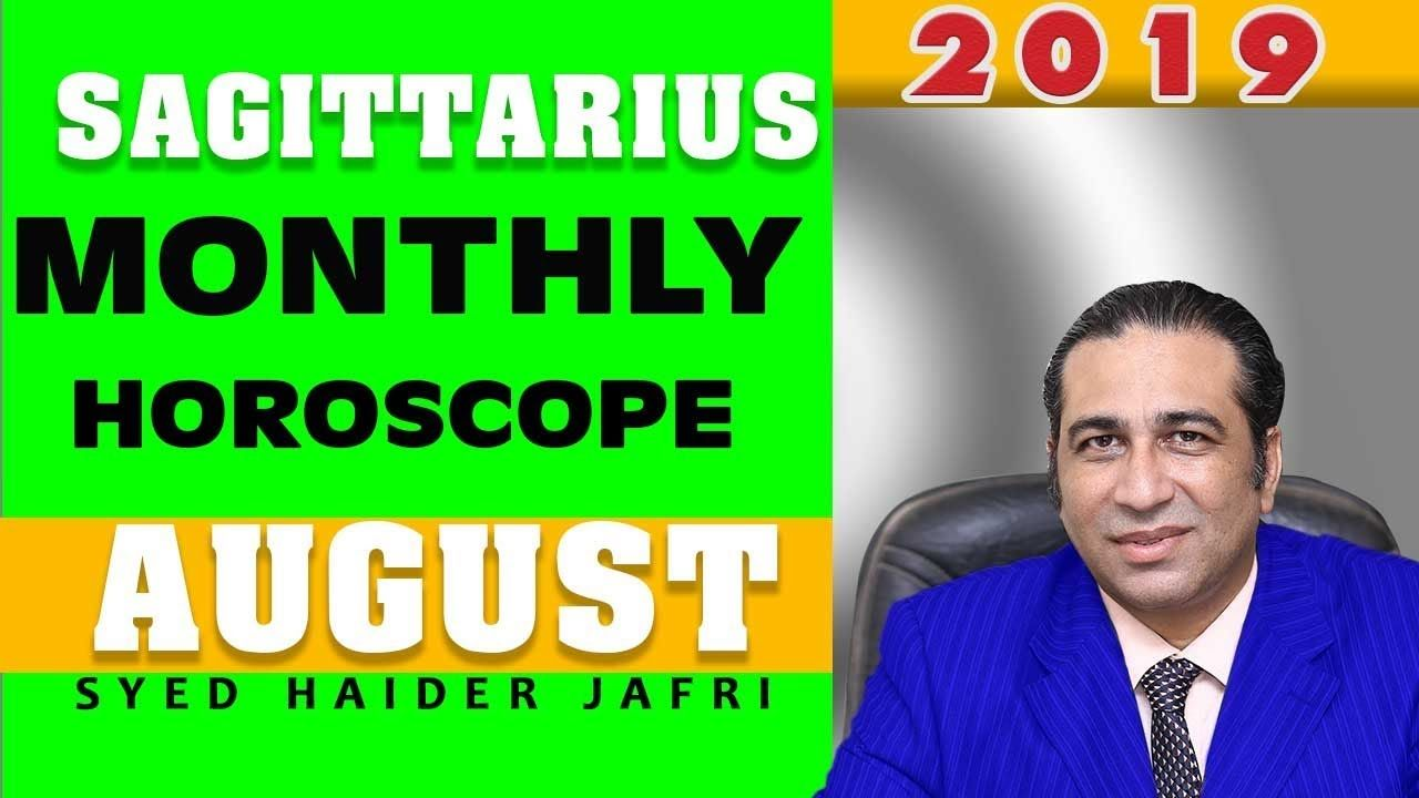 Sagittarius Monthly Horoscope in Urdu August 2019