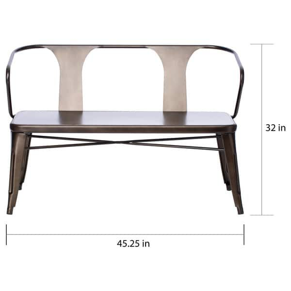 Cool Tabouret Vintage Metal Dining Bench With Back Living Room Andrewgaddart Wooden Chair Designs For Living Room Andrewgaddartcom