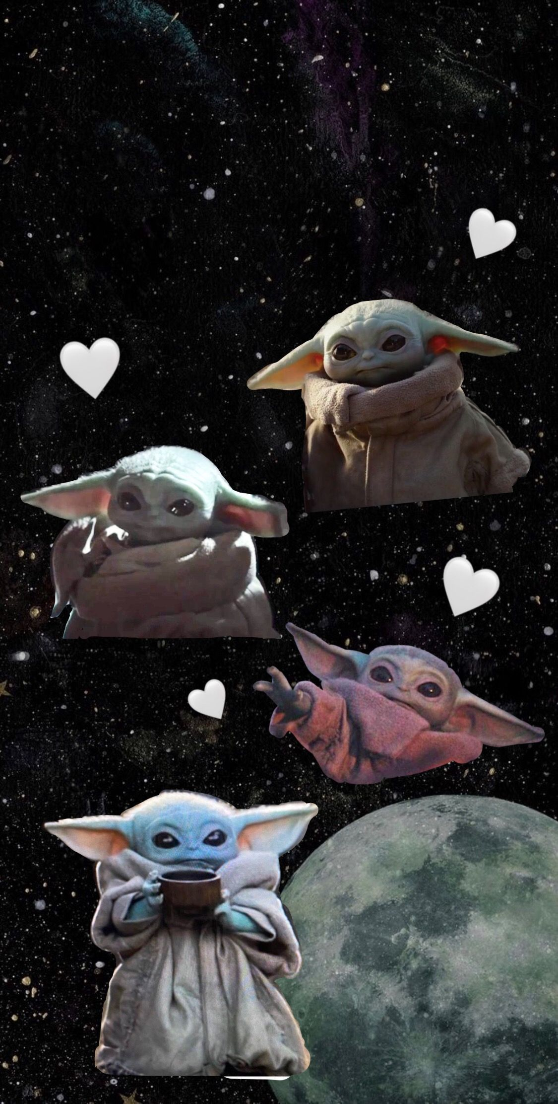Baby Yoda 2020 Disney Cizimleri Illustrasyon Posterleri Yildiz Savaslari