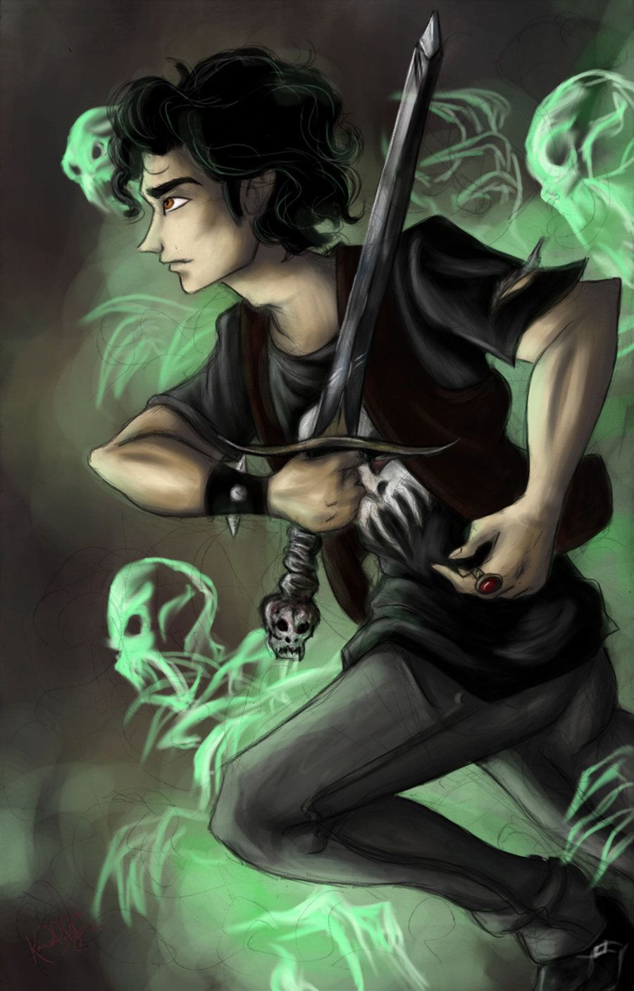 Nico Di Angelo Son Of Hades