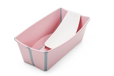 Vasca Da Bagno Stokke : The stokke flexibath baby bath tub in pink optional flexi bath