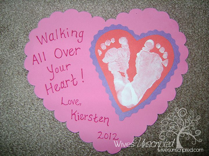 Baby Crafts For That First Year Baby Crafts Craft And Babies