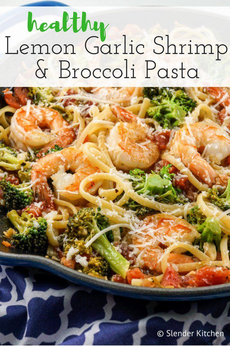 Lemon and Broccoli Pasta with Shrimp Lemon and Broccoli Pasta with Shrimp