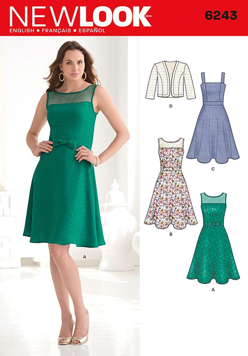 Simplicity Creative Group - Misses\' Dress and Bolero | Jesus eh o ...