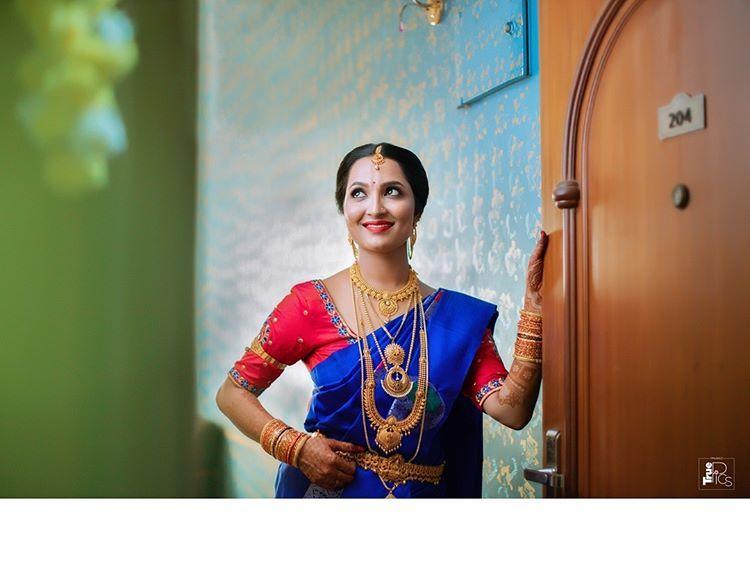 "Wedding Photographer on Instagram: ""Wedding . BRIDE - Shruthi . Shoot For : Neethu Photography @nithesh1273 . #weddingdiaries #indiagramwedding #bride #bridestyle #couple…"""
