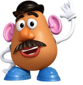 Mr Potato Head Toy Story Toy Story Party Decorations Toy Story Birthday