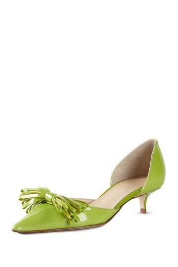 2cc5d8e7ea Butter Sauce Pointed Toe Kitten Heel Pump | The Covered Foot | Shoes ...