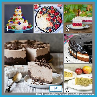 DIY And Household Tips: 5 Easy And Yummy Cake Recipes