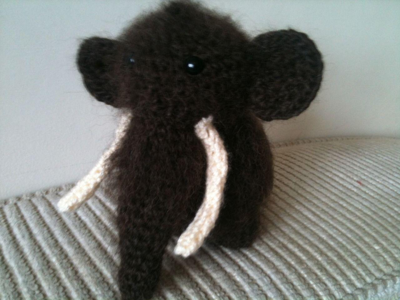 Alpaca Amigurumi Pattern Free : Wooly mammoth free crochet pattern http: justaddawesome.tumblr