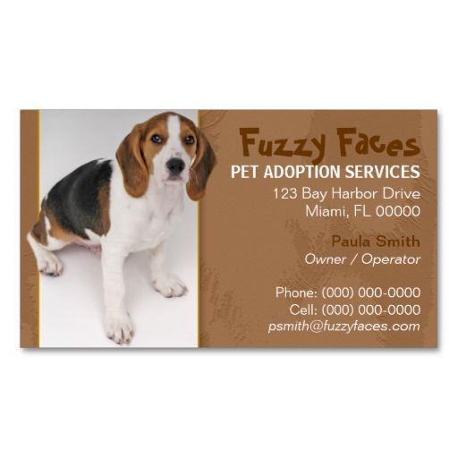 Pet Adoption Business Card Zazzle Com Pet Adoption Google Business Card Adoption