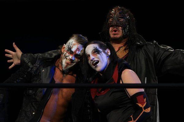 Tna Tag Team Champions The Decay Crazzy Steve Rosemary And Abyss