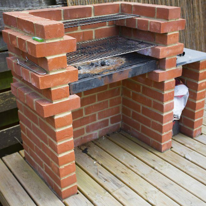 Comment construire un barbecue en brique ? Barbecues, Foyers and