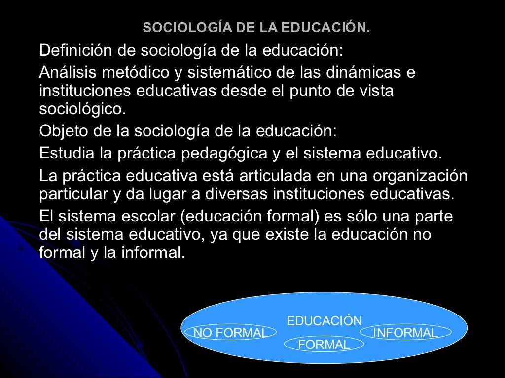 sociologia-de-la-educacion-12145948 by Daniel Calvillo via Slideshare