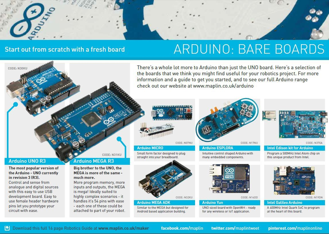 Robotics At Maplin Get To Maplin Co Uk Maker And Download This