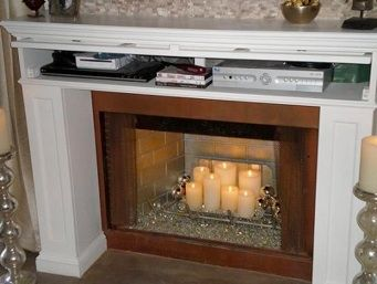 Fireplace Mantels can be home theater furniture | Home DIY ...
