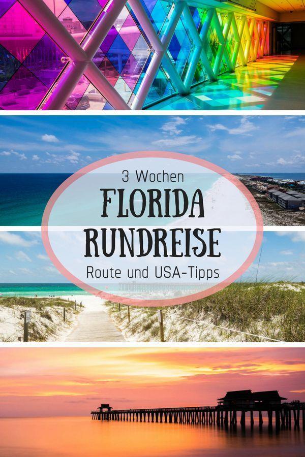 Florida ida y vuelta 3 semanas – ruta y consejos de EE. UU.