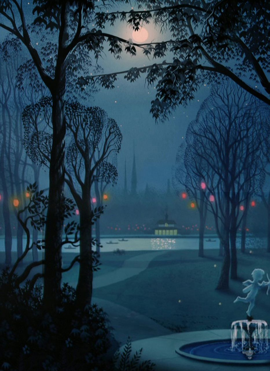 lady and the tramp animation backgrounds disney love