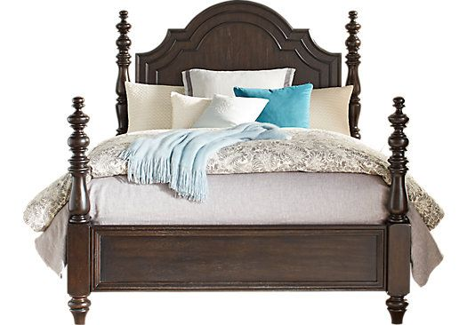 Westerleigh Oak 3 Pc King Low Poster Bed 699 99 93l X 85w X