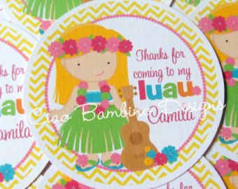 Fiesta de cumpleaños de Luau  Luau hawaiano imprimible