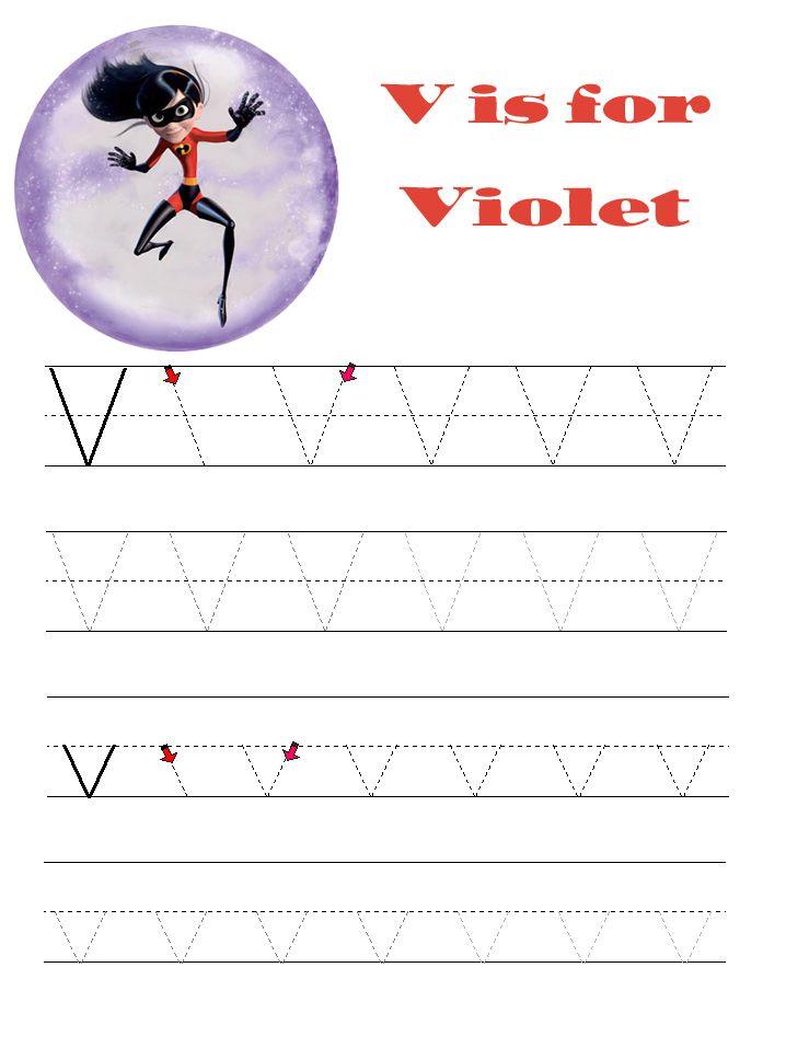 Disney Alphabet Learning Pages Kids Disney Alphabet