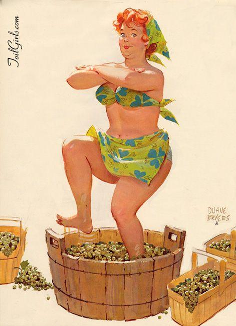 O artista americano Duane Bryers , se especializou em ilustrações comerciais até 1958, quando criou Hilda , uma pin up um pouco fora de pe...