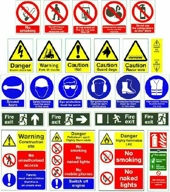 Learn Your Construction Safety Signs Wells Innovations Org And Tooltrackerapp Want You To Be Safe Constr Safety Signs And Symbols Hazard Sign Safety Posters