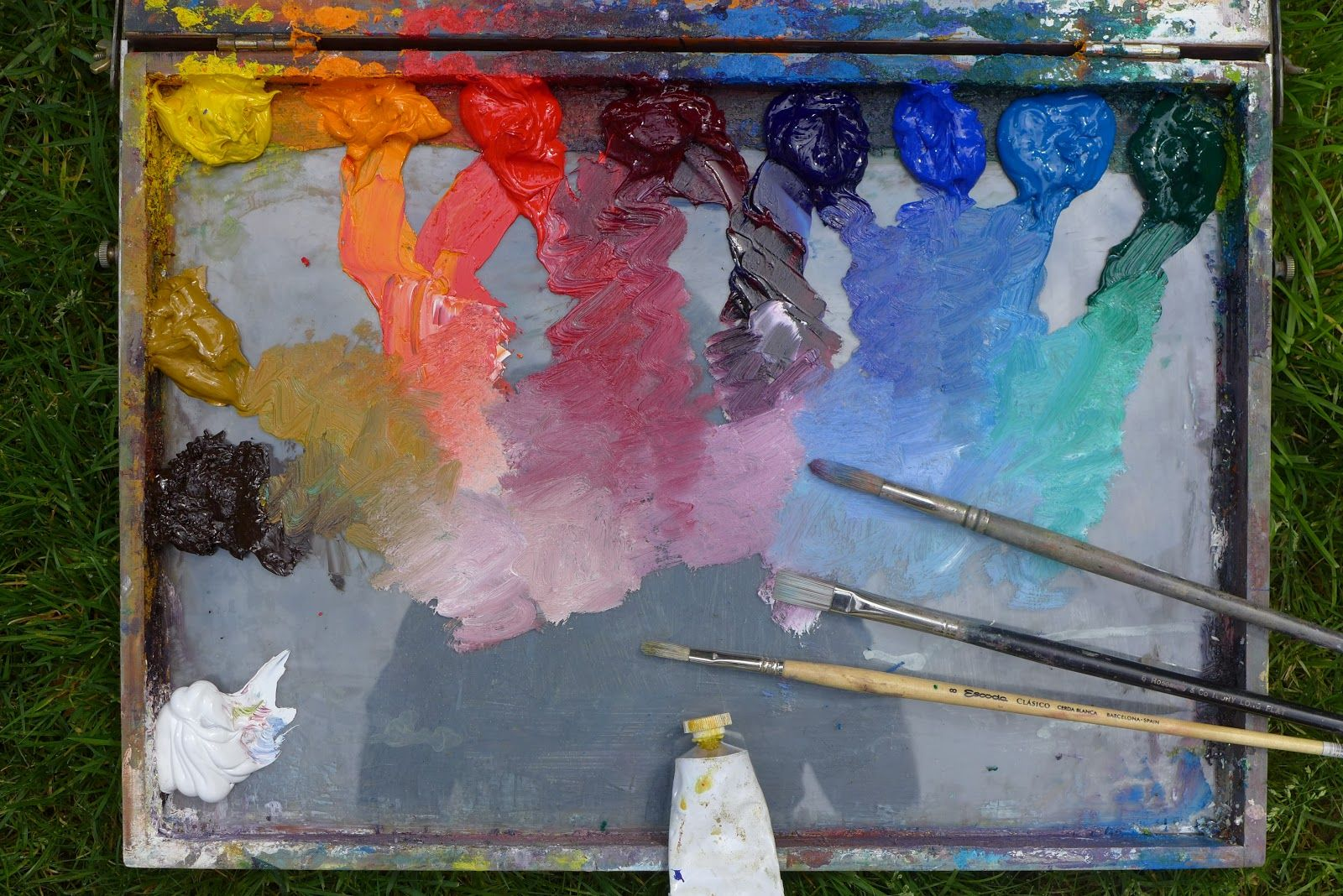 Thomas Jefferson Kitts | Blog: The Contemporary Outdoor Painters' Palette...