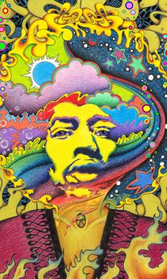 Jimi hendrex phone wallpaper phone wallpapers jimi - Jimi hendrix wallpaper psychedelic ...
