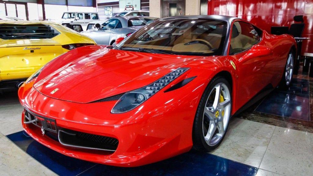 Ferrari 458 Italia 2011 Gcc Used Car For Sale In Dubai